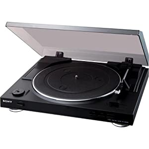 Sony PS-LX300USB USB Stereo Turntable (Black)