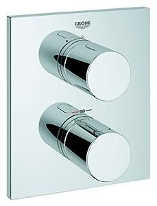 GROHE Façade pour mitigeur thermostatique encastré douche Grohtherm 3000 19568000 (Import Allemagne)