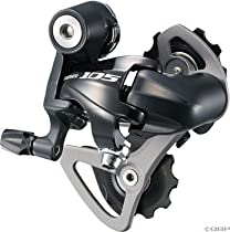 Shimano RD-5700 105 Rear Derallieur (10-Speed, SS Short Cage, Black)