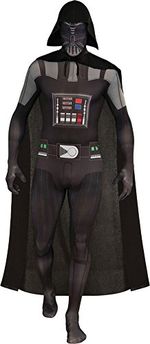 Darth Vader Skin Suit Adult Costume Lg Halloween Costume