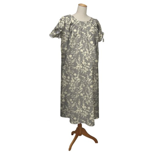 the peanut shell Hospital Gown, Whisper, Small/Medium - 1