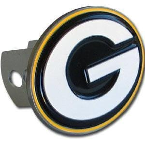 Green Bay Packers Logo-Only Trailer Hitch Cover by Siskiyou