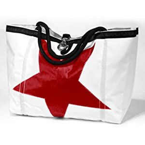 Ella Vickers Rope Open Sailcloth Tote Bag