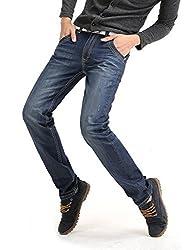 Demon&Hunter Classic Series Men's Regular Straight Leg Jeans DH8003-1(30)
