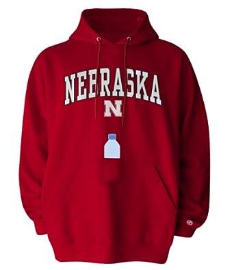 NCAA Nebraska Cornhuskers Mens SIPS Hooded Sweat Shirt by Old Varsity