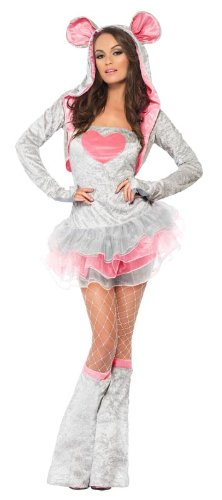 Fever Mouse Costume  GreyPink Grey Mouse Costume