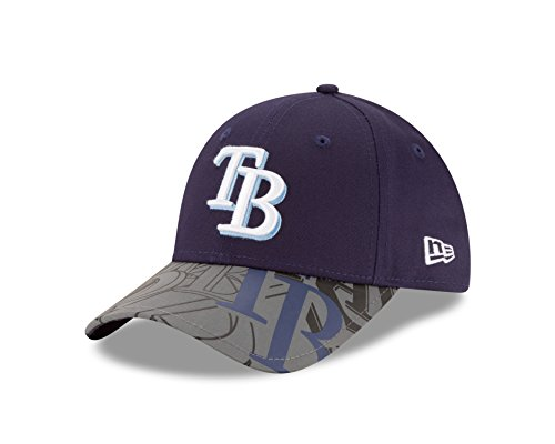 MLB Tampa Bay Rays Kids Reflect Fuse 9FORTY Adjustable Cap, Youth, Navy