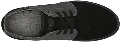 C1RCA Men's Drifter Skateboard Shoe, Black/Shale, 9 M US