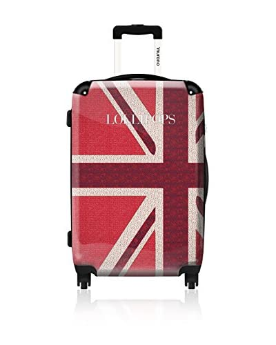 ikase Lollipops Union Jack, 24 Hardcase, Red