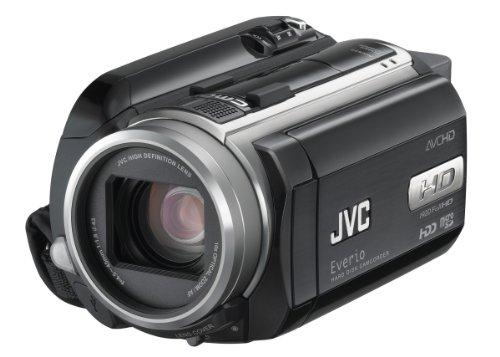 JVC GZ-HD30 Caméscope Full HD à disque dur Ecran LCD antireflet 7 cm Zoom optique x10 80 Go