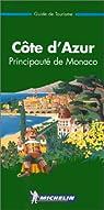 Côte d'Azur, Principauté de Monaco par Michelin