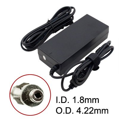 Battpit? New Replacement Laptop / Notebook AC Adapter Charger for Compaq 516 Notebook PC (19V 4.74A 90W Laptop Adapter (Fixed T-Tip)) (Ship From Canada)