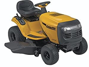 Poulan Pro PB195A46LT 19.5 HP Auto Transmission Lawn Tractor, 46-Inch by Husqvarna Wheeled