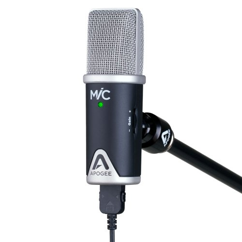 Apogee MiC 96k Professional Quality Microphone for iPad, iPhone, and Mac - 4