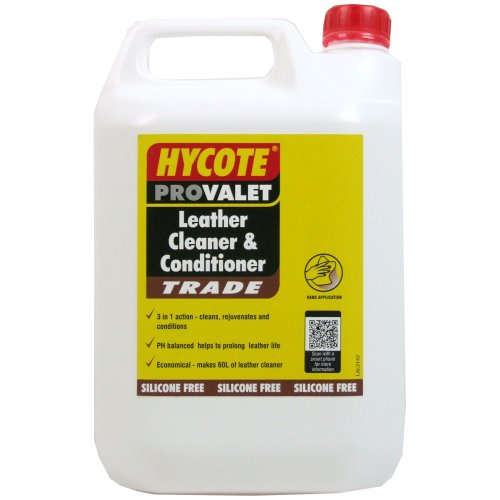 Hycote 5L Leather Cleaner and Conditioner