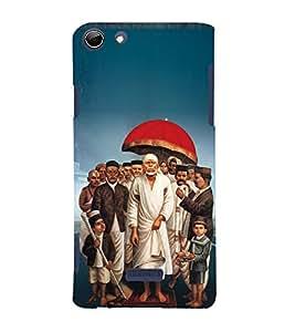 Om Sri Sai Amaraaya Baba 3D Hard Polycarbonate Designer Back Case Cover for Micromax Canvas Selfie 3 Q348