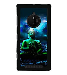 printtech Lord God Buddha Back Case Cover for Nokia Lumia 830 RM-984