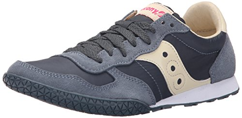 Saucony Originals Women's Bullet Classic Retro Sneaker, Slate, 7 M US