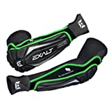 Exalt Thrasher Elbow Pads - Black Lime by Exalt
