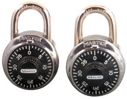 Buy Master Lock Combination-Alike Locks, 2-Pack #1500T