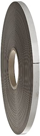 """Flexible Magnet Tape - 1/16"""" thick x 1/2"""" wide x 100 feet (1 roll)"""