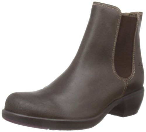 Fly London Womens Make Boston Suede Dark Brown Chelsea Boots P142458003 7 UK, 40 EU