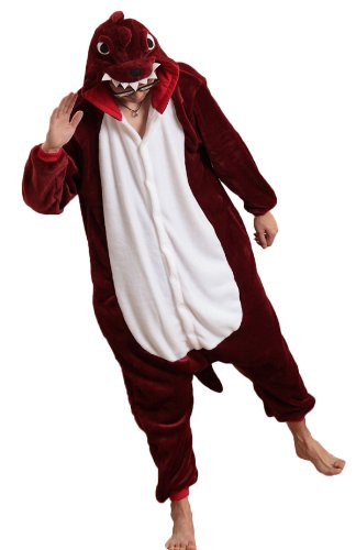 Red Dinosaur Kigurumi Costume
