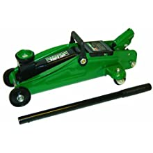 Maasdam Pow'R Lift MPL4136 Trolley Jack, 2 Ton, Green
