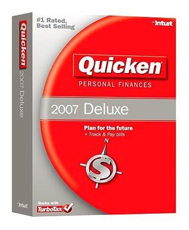 Quicken Personal Finances Deluxe 2007 [OLDER VERSION]