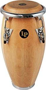Lp Lpm198 Mini Tunable Wood Conga Natural by Latin Percussion