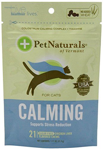 Pet Naturals Calming for Cats (21 count) 1.11oz.