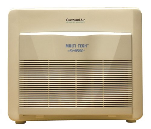 Surround Air Multi Tech XJ-3000C Air Purifier with HEPA/Carbon/Pre-Filter and Germicidal UV lamp