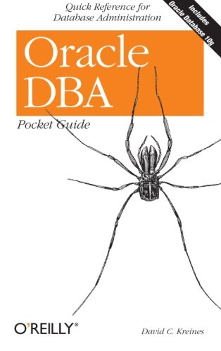 Oracle DBA Pocket Guide (Pocket Reference)