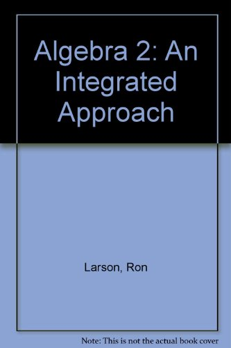Heath Algebra 2: An Integrated Approach