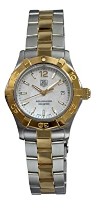 "TAG Heuer Women's WAF1424.BB0825 ""Aquaracer"" Stainless Steel and 18k Gold Watch"