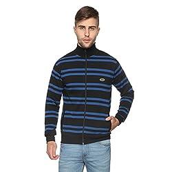 Proline Men's Cotton Knitwear (8907007338155_PC11058C_BK_XXL_Black)