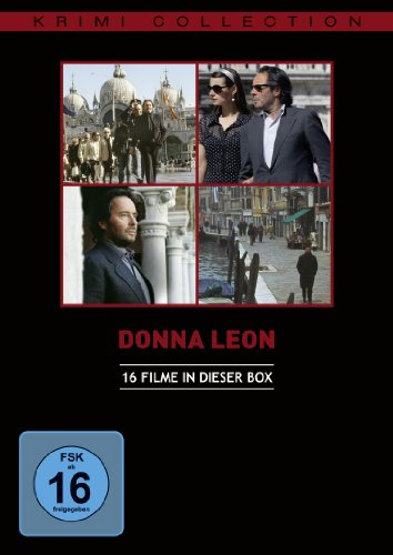 Donna Leon - Collection [8 DVDs]