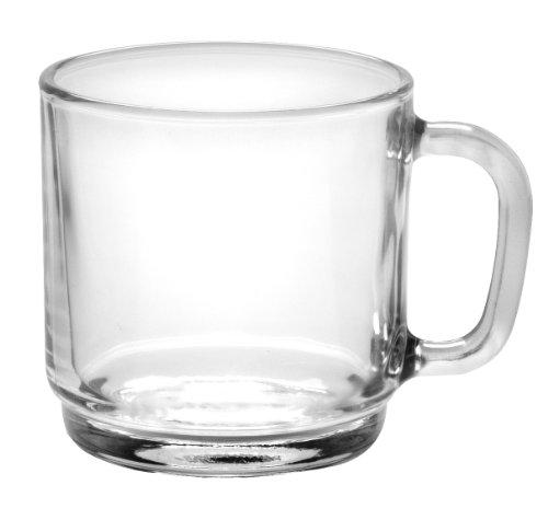 Duralex - Lys Stackable Clear Mug 210 Ml (7 3/4 Oz) Set Of 6