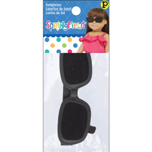 Springfield Collection by Fibre-Craft - Black Sunglasses - Fits All 18-Inch Dolls - Mix and Match - For Ages 4 and Up (Dolls Made Of Glass compare prices)