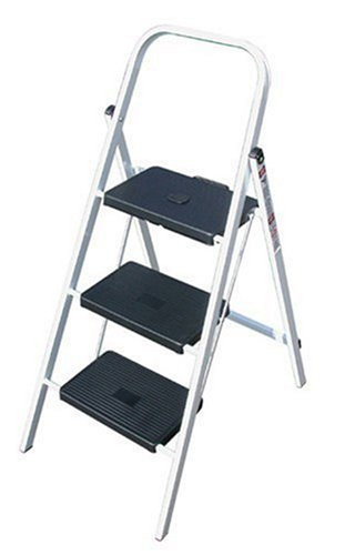 Buy TriCam Skinny Mini 200-Pound Duty Rating Three-Step Steel Stool #403-13