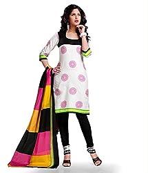 Kesar Sarees Womens Cotton Dress Material (Kessa1004 _Multi-Coloured _Free Size)