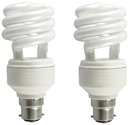 Osram Spiral 18 Watt CFL Bulb (Cool Day Light,Pack of 2)