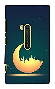 Print Haat Back Case Cover for Lumia 920 (Multicolor)