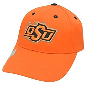 Buy NCAA Oklahoma State Cowboys Curved Bill O-State OSU Constructed Orange Hat Cap by Official Collegiate Licensed Product