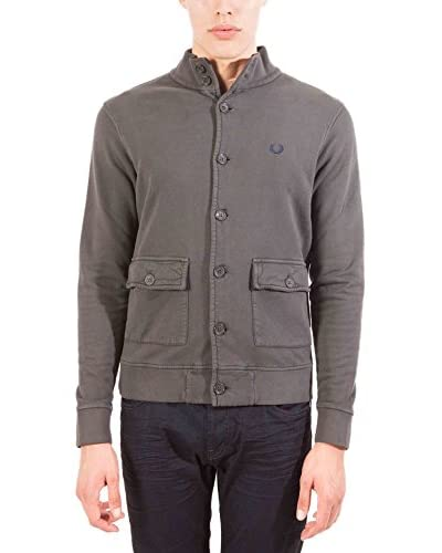 Fred Perry Chaqueta Gris