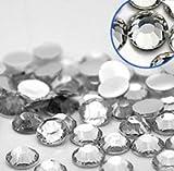 Pack of 1000 x crysta Flat Back Rhinestone Diamante Gems 4mm