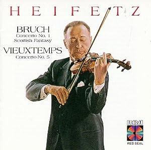 Bruch: Concertos No.1 / Scottish Fantasy / Vieuxtemps: Concerto No.5