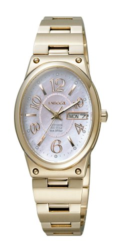 CITIZEN (シチズン) 腕時計 wicca ウィッカ Eco-Drive エコ・ドライブ NA15-1321A レディース