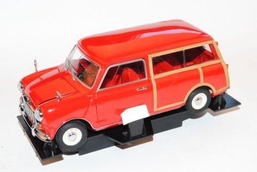 Mini Morris Cooper Traveller Kombi Rot 1968 1/18 Kyosho Modell Auto
