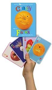 eeBoo Crazy Faces Card Game